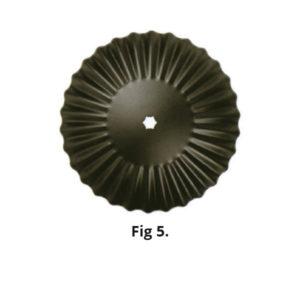 Fluted Harrow Disc Fig 5